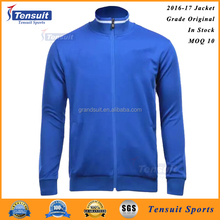 Customized hot football team jacket in thai quality plain men sports coat outer soccer jacket for club