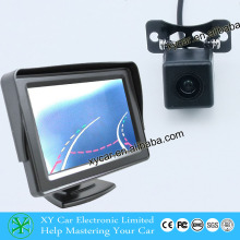 Car Reversing Aid with moving guide line,for12V DC car use, night vision infrared car camera XY-1688M