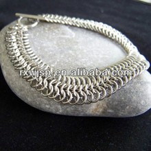 316L stainless steel chainmaille chain bracelets