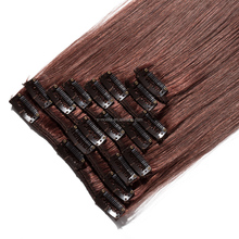 European hair wholesale virgin Human Hair Blonde clip in Hair Extension