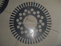 wind turbine generator stator sector laminated cores