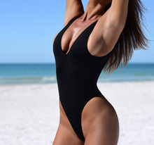 STOCK 6Colors NO PAD Sexy Woman High Cut Thong One Piece Swimwear