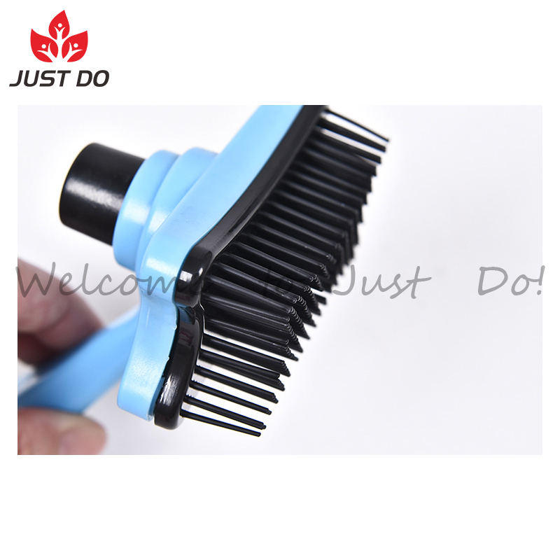 Pet Fur Removes Comb Hair Grooming Tools Cleaning Slicker Brush