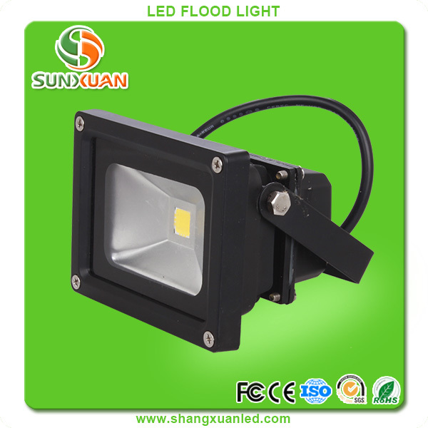led lights 10W 20W 30W 50W 80w 100w Black FloodLight project light lamp Foco 85~265V CE & ROHS
