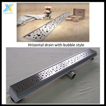 Stainless Steel Linear Shower floor drain trap / floor siphon drain