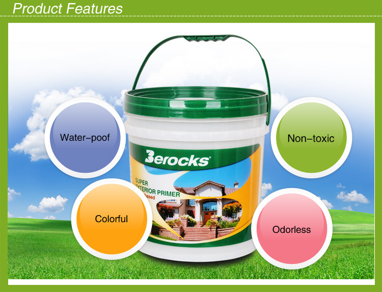 Wholesale 18L Water based Exterior wall paint