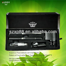 Electronic cigarette filter LCD power/puff display