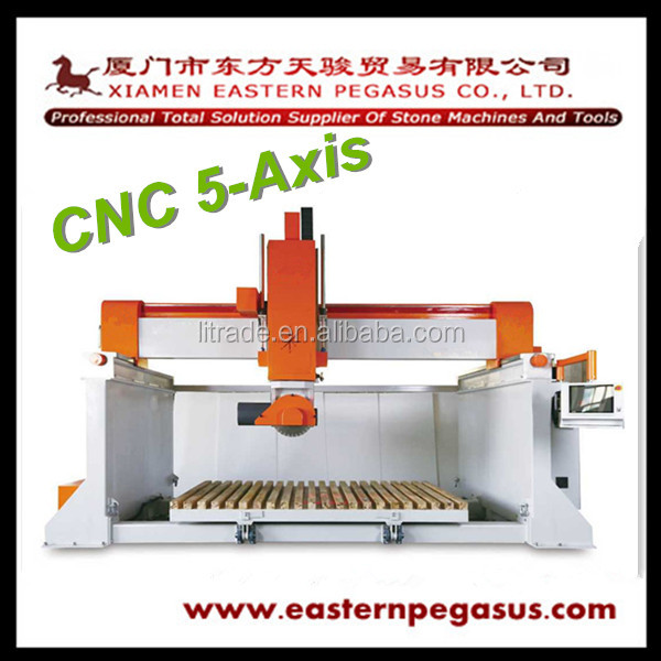 2016 Stone Machine 5-Axis CNC Bridge Saw
