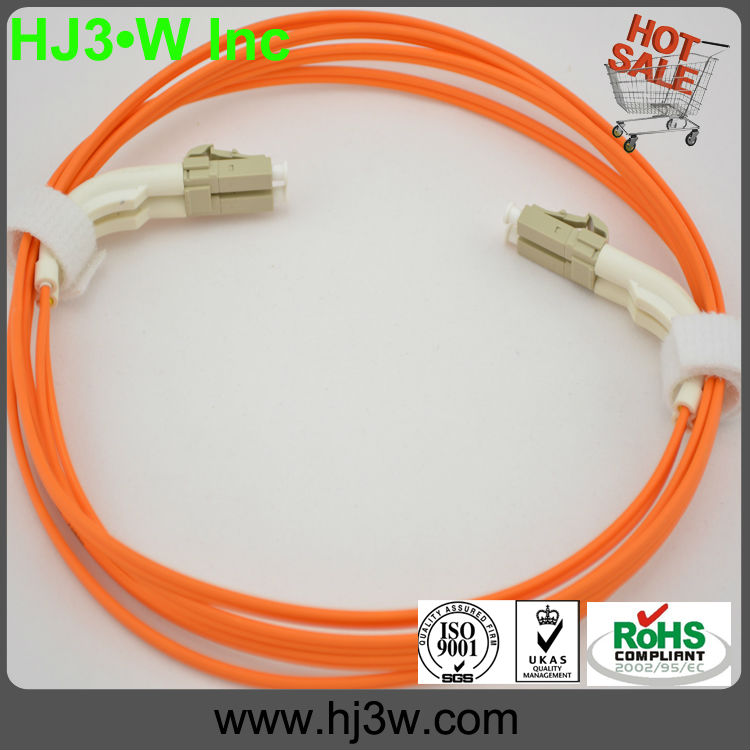 Hot sales!!!LC-LC MM 2 core fiber optic cable price list with 0.9mm,1.2mm,1.6mm,2.0mm,3.0mm cable