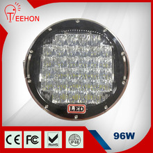 TEEHON Truck Parts 9inch 96W LED Work Light, Car Lamp, 96W Auto LED Tuning Light LED Headlight