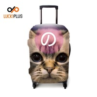 Luckiplus Transform Printed Trolley Case Cover Protective Luggage Cover