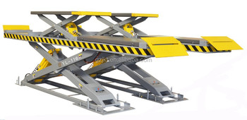 CE Certificate YL-116 Wheel Aligment Car Scissor Lift machine
