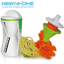 Manual Hand Held Magic Chopper Vegetable Julienne Slicer Food