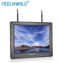 FEELWORLD 12 inch lcd fpv monitor hd 5.8GHz Diversity 32ch RX for drone parrot 2.0