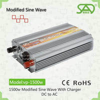 Quality Guarantee Off Grid Solar Inverters for home application 1500w 12v 220v da to ac modified sine wave inverter