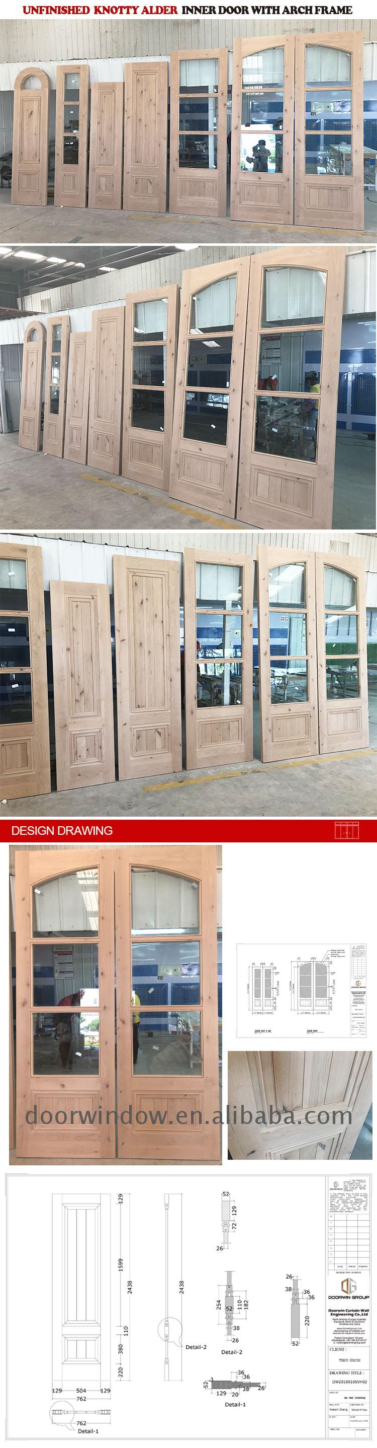 Factory supply discount price standard interior door size chart canada frame
