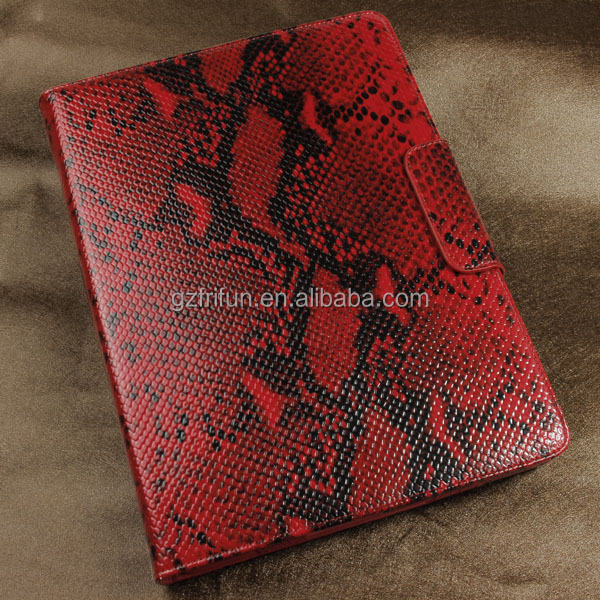 buy china manufacture own design snake skin color tablet case , 9-10 inch leather universal flip cover on sale