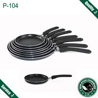 Press aluminum non stick indian tawa pan