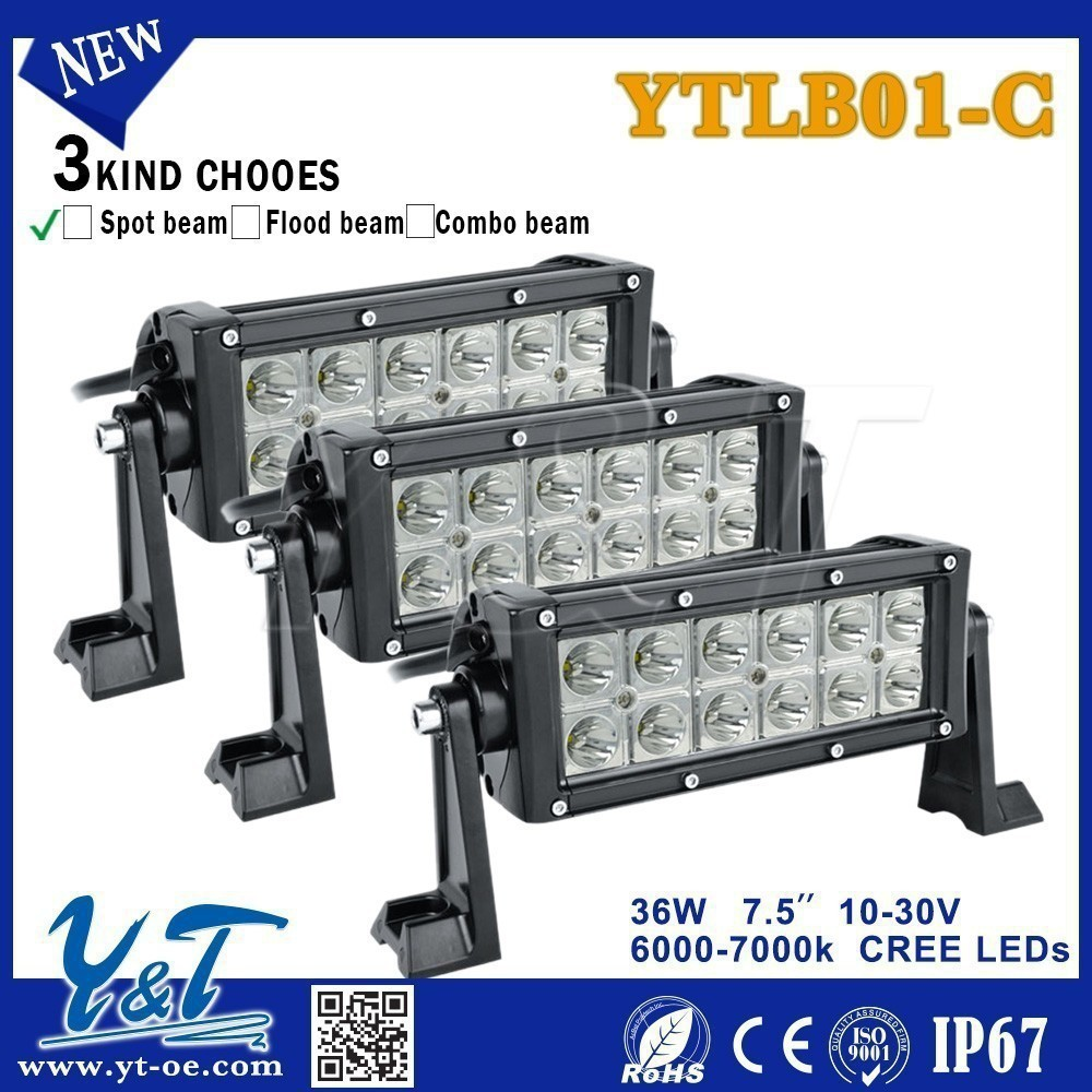 Smart wholesale led light bar 12 volt Double Row 36W Led Light Bar straight 4D led light bar modern lighting 2015