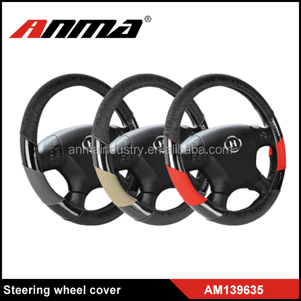 design velvet car steering wheel cover