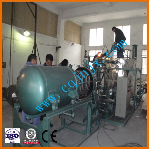 china zsc-2 black engine oil purifier for purification the waste motor oil to new oil