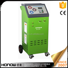 HO-L500 Semi-auto car a/c refrigerant recovery recycling recharge machine