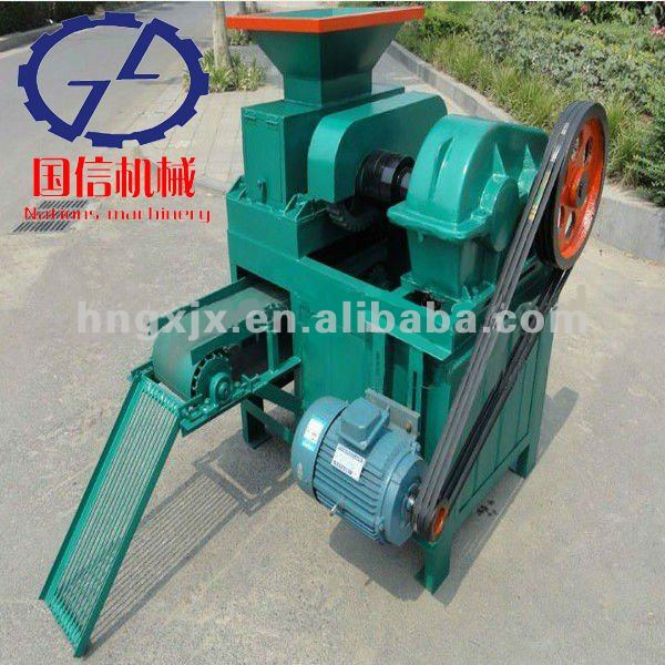 CE approved high efficiency wood briquette press machine from stock