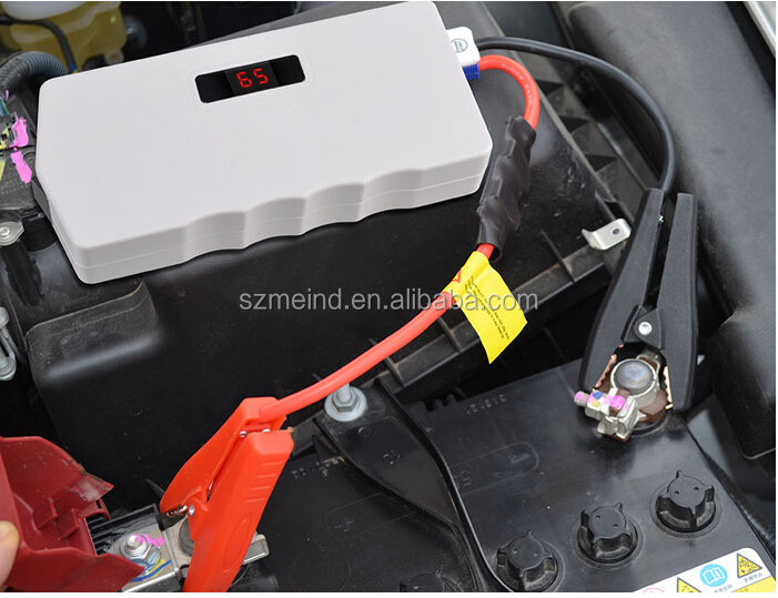 2015 newest Portable car charger jump starter 13600mAh 12v rechargeable battery pack