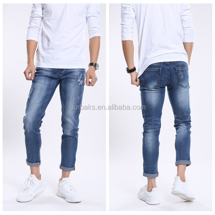 2016 Factory Hot Sale High Quality New Style Boys Pants Jeans