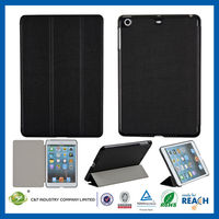 C&T Protective magnetic flip custom for ipad mini smart leather case