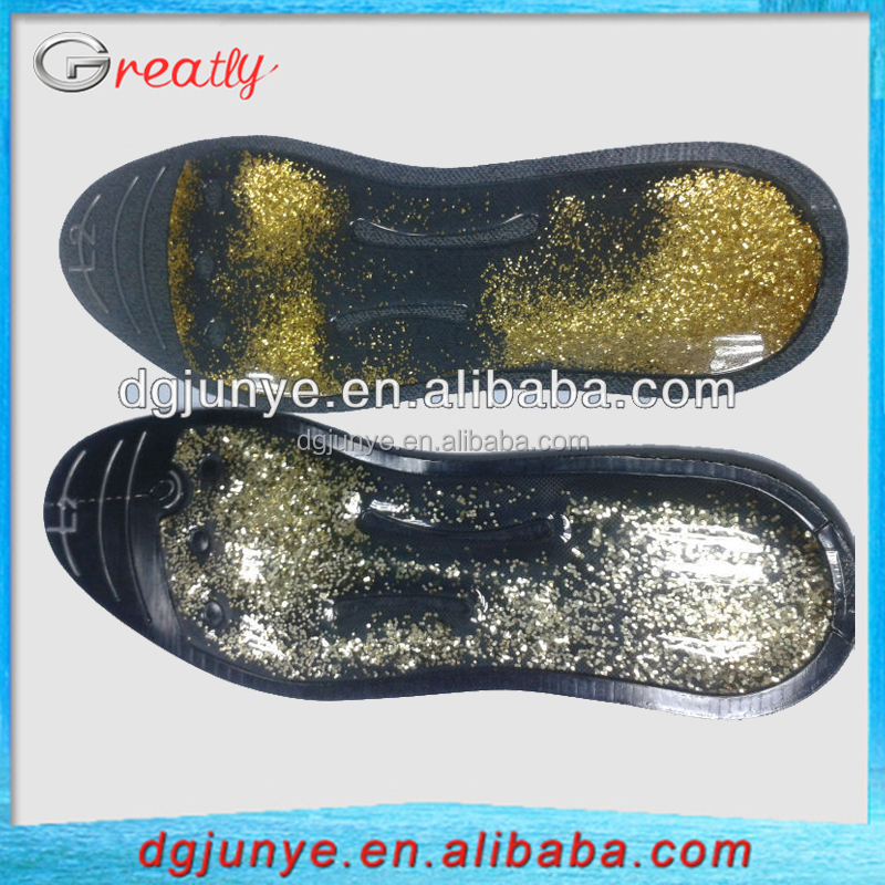 Fashionable TPU shown glycerin fluid orthopedic massaging insoles for diabetics