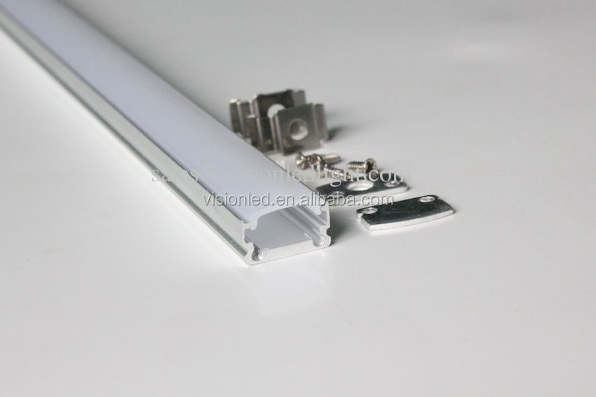 Thin LED aluminum channel for SMD 3528 led strips