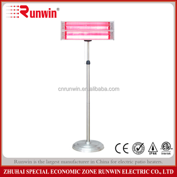 Electric low glare red tube wall mounted far infrared halogen hanging patio heater electric blanket with europe plug