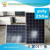 Good quality 250w poly solar panel