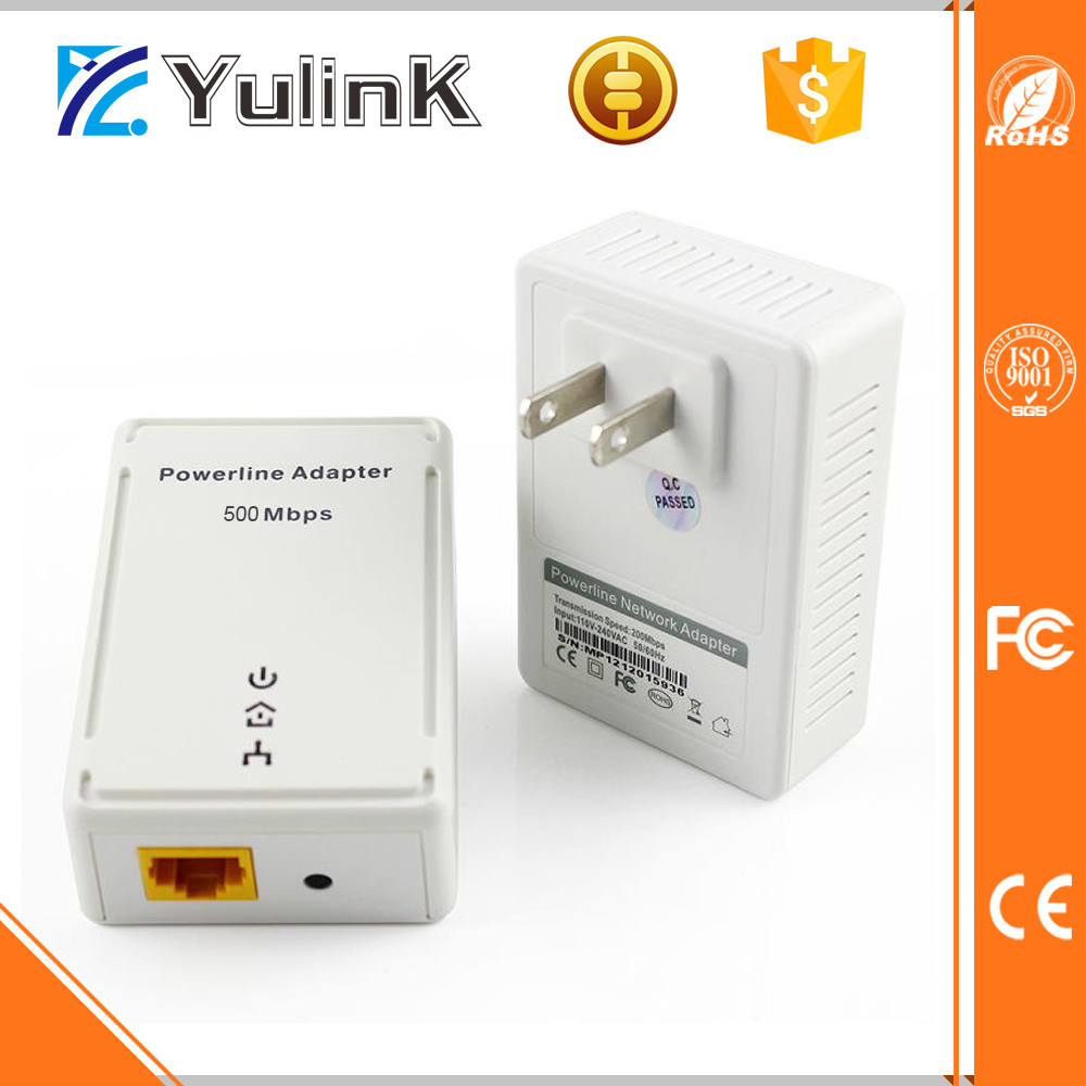 Industrial Powerline Ethernet Adapter 500m 85m plc homeplug powerline adapter