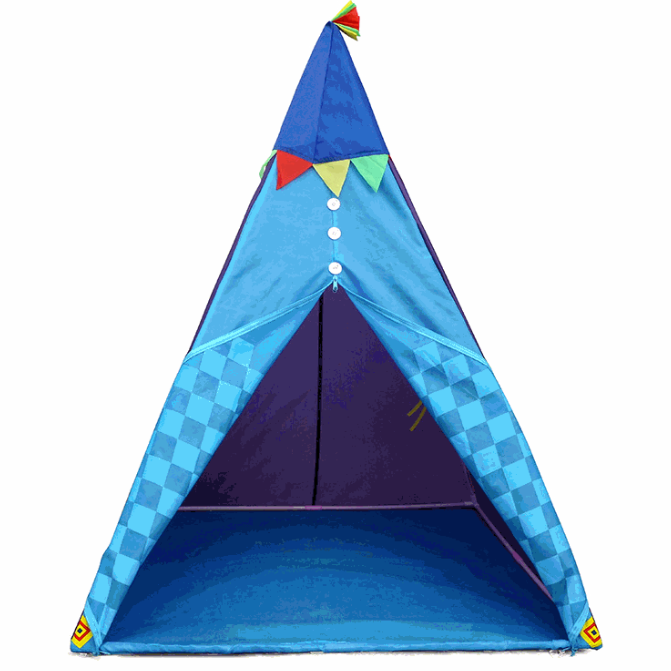 kids tent play house play tent outside family indian tent children teepee tent kids playing tent Single Layer kids tent