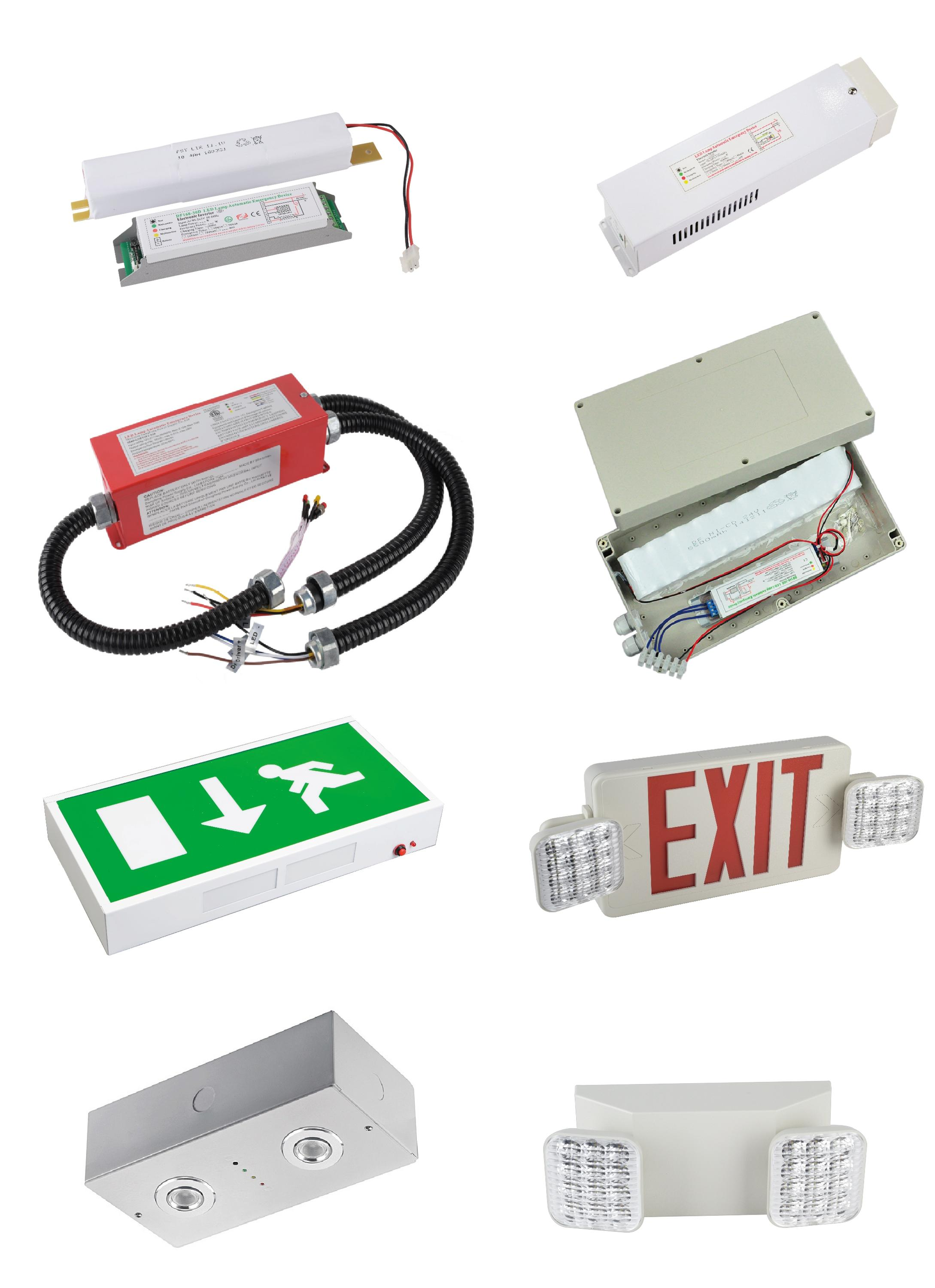 emergency exit  light ETL North American certificate approval LED Exit Sign emergency light