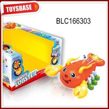 Battery plastic toy lobster