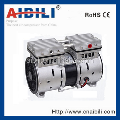 Low noise oil free dental air compressor motor