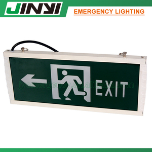 CE ROHS Certificate battery backup LED emergency light with self luminous exit signs