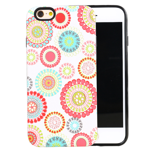 Olja custom printed 2 in 1 mobile phone cover , custom cover case for iphone , printed case for iphone 6