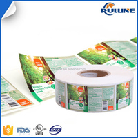 Most fancy design custom-made plastic bottle label printing adhesive sticker for Mosquito-repellent spray
