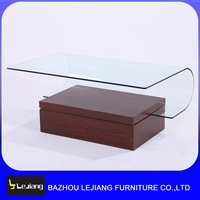 living room furniture modern design glass center table