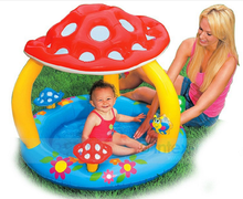 Factory wholesale INTEX 57407 INTEX 57407 mushroom inflatable baby pool, small baby inflatable swimming pool