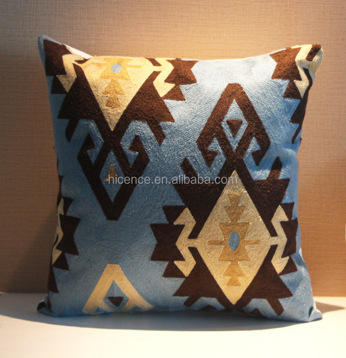 New Knitting Embroidery Cushion Case