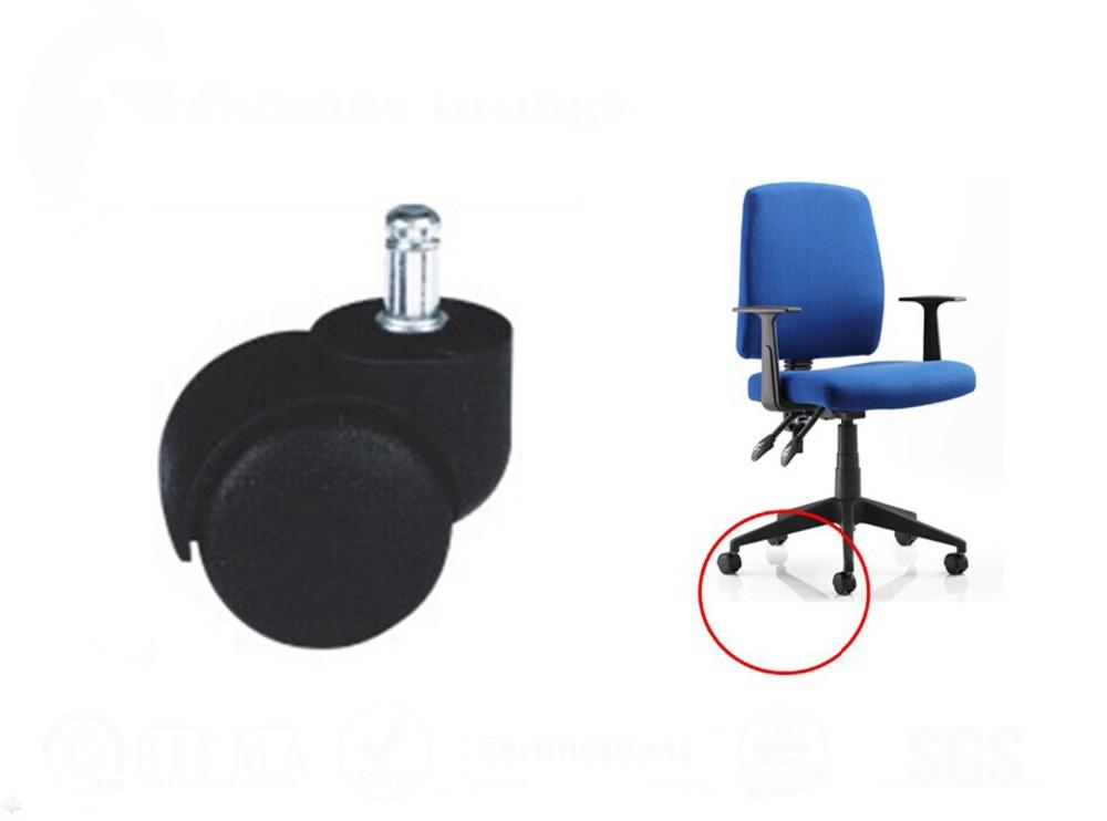 Rueda giratoria de oficina silla de piezas de repuesto for Sillas giratorias para oficina