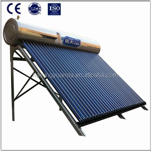 Sous pression tube vide de caloduc de chauffe eau for Chauffe eau solaire sous vide