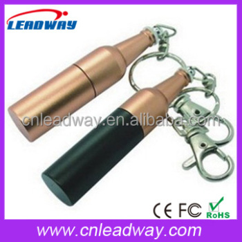 Metal Bottle Shape USB2.0 Pendrive 1gb 2gb 4gb 8gb 16gb
