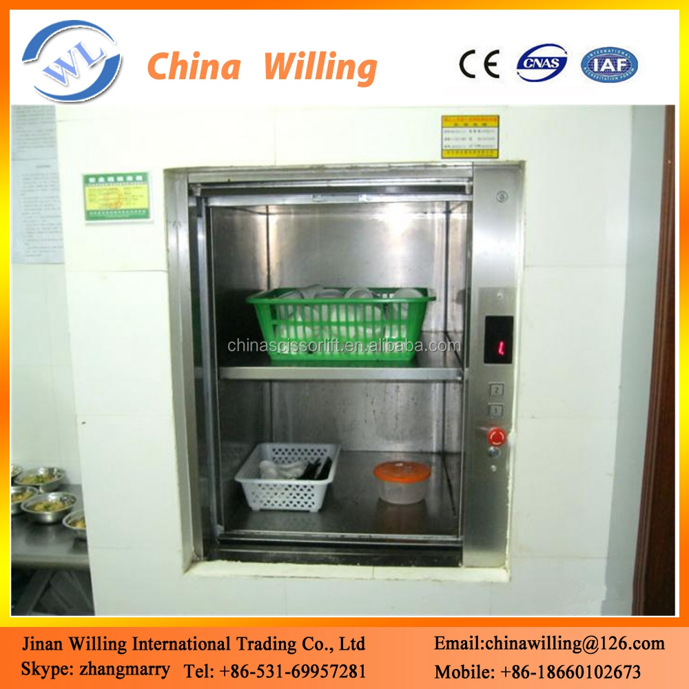 elevator food dumbwaiter elevator , used kitchen cabinet elevator
