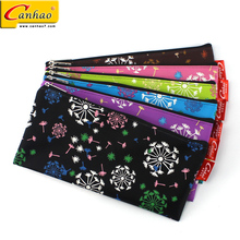 China factory canvas pen pouch gift soft zipper pencil bag